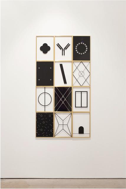 , 'Mood board,' 2017, Galeria Enrique Guerrero