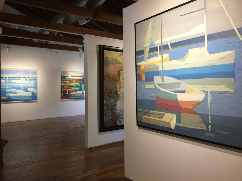 george xiong and huang duoling recent works tao water art gallery artsy