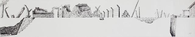 , 'Fence I,' 2016, Saskia Fernando Gallery
