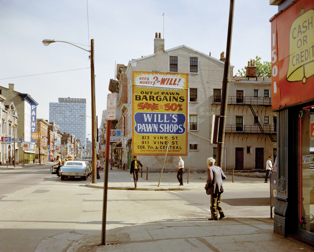 , 'West 15th and Vine St., Cincinati, Ohio 5/15/1974,' 2000, CONRADS