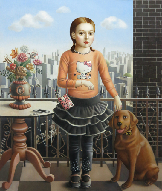 , 'Girl with Dog,' , Front Room Gallery