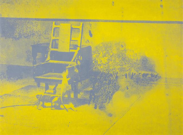 Andy Warhol, 'Electric chair', 1971, Martini Studio d'Arte