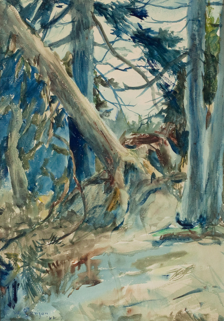 , 'Forest Interior,' 1922, Questroyal Fine Art