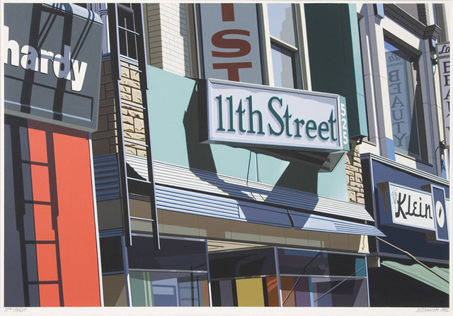 , 'Facade: 11th Street,' 1982, Forum Gallery