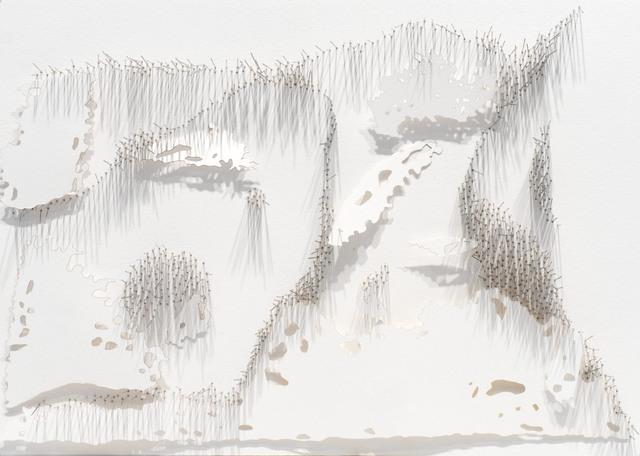 , 'Frontière 4,' 2017, L'Atelier 21