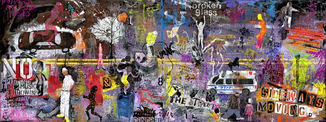 , 'The Street,' 2008, Exhibit No. 9