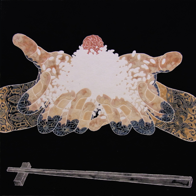 , 'Nourish II (Rise In The Hand),' 2016, JanKossen Contemporary