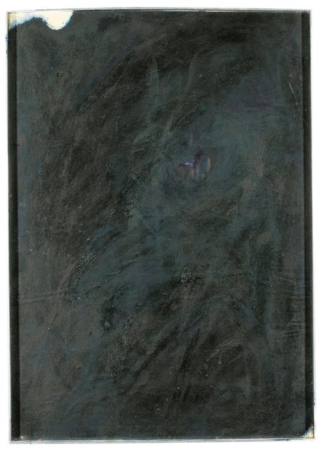 , 'Black Overpainting,' 1970, Galerie Kovacek
