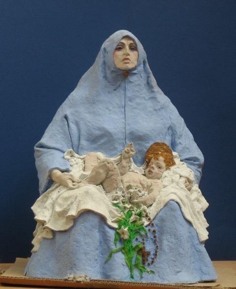 , 'Virgin Mary,' c.1995, Mall Galleries
