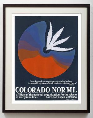 Thomas W. Benton, 'Colorado NORML', 1972, Gonzo Gallery
