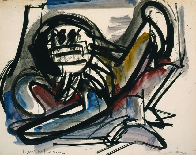 , 'Untitled (Scaredy Cat III),' 1944, Adelson Cavalier Galleries