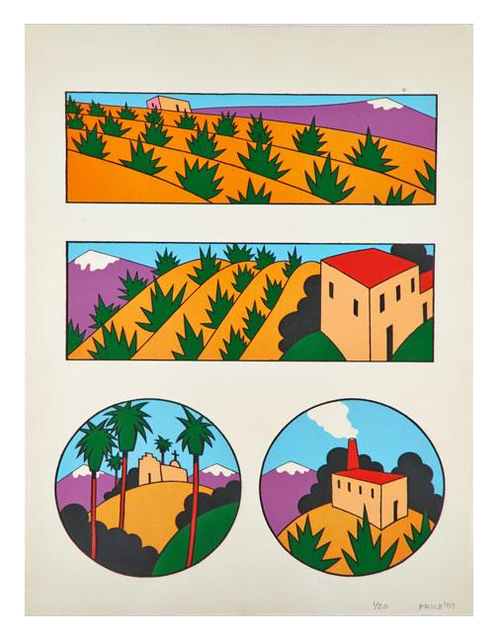 , 'Four Images of New Mexico,' 1977, Brooke Alexander, Inc.