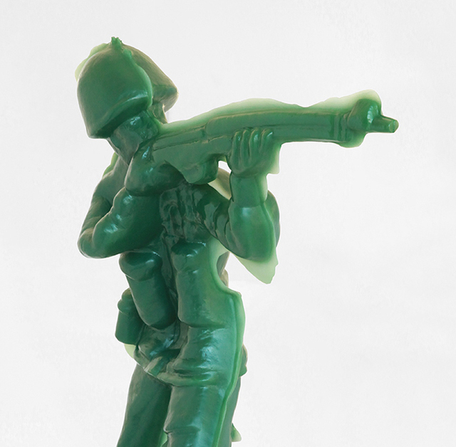 Yoram Wolberger, 'Toy Soldier #4 (Offhand Position)', 2015, Mark Moore Fine Art