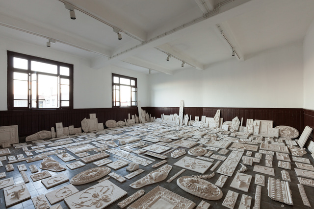 , 'The Flesh Is Yours, The Bones Are Ours, 14th Istanbul Biennial SALTWATER, installation view, Galata Greek Primary School. Photo by Sahir Ugur Eren.,' 2015, Rhona Hoffman Gallery