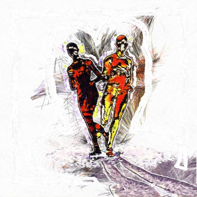 , 'The Runners II,' 2019, INAOSSIEN Art