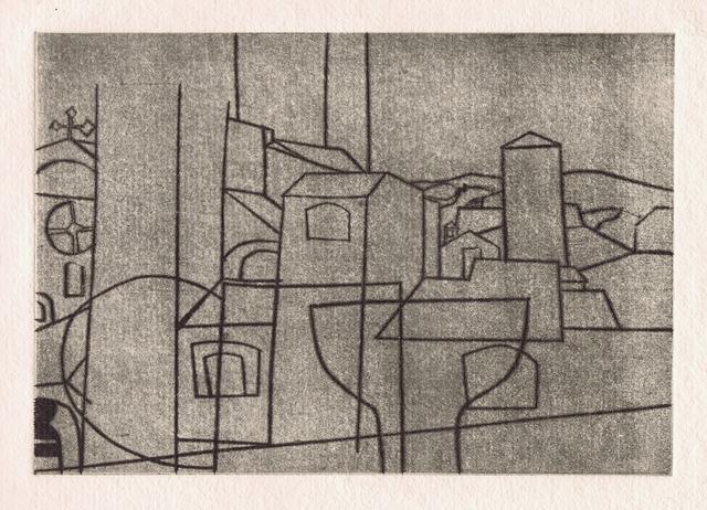 , 'San Gimignano,' 1953/66, Gerrish Fine Art