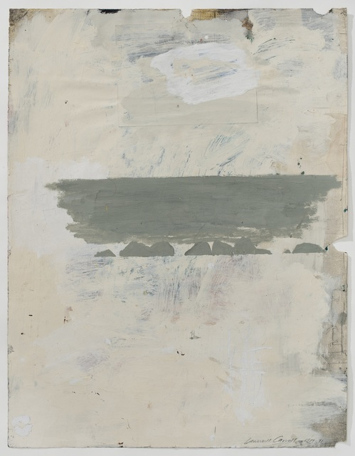 , 'Untitled drawing - (ocean),' 1989-1991, Buchmann Galerie Lugano