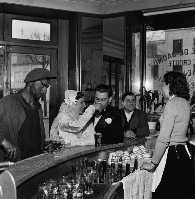 , 'Café Noir et Blanc, Joinville-le-Pont,' 1948, Holden Luntz Gallery