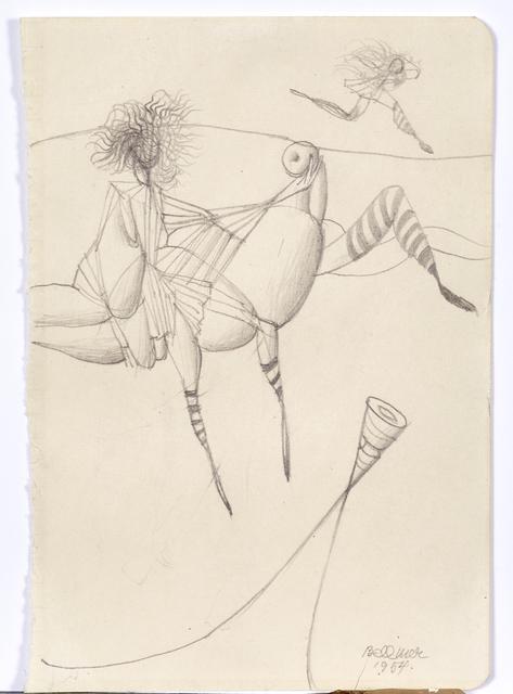 , 'ohne Titel,' 1954, Levy