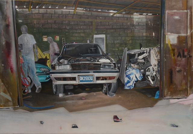 , 'Garage Mécanique,' 2010, Galerie Cécile Fakhoury - Abidjan