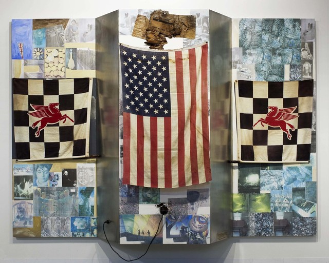 Robert Rauschenberg, 'Pegasus' First Visit to America in the Shade of the Flatiron Building (Kabal American Zephyr)', 1982, Robert Rauschenberg Foundation