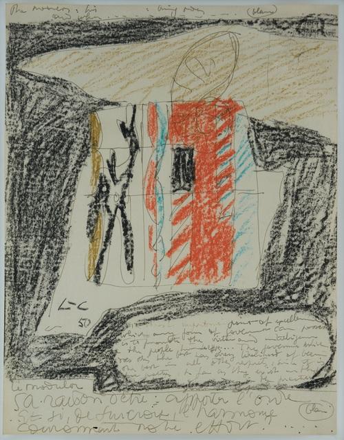 Le Corbusier, 'Modulor', 1950, Placart