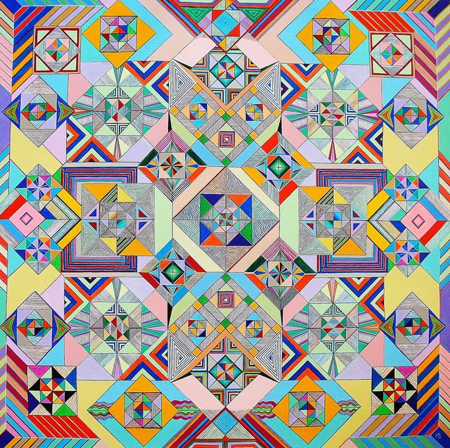 , 'Mosaique,' 2014, galerie bruno massa