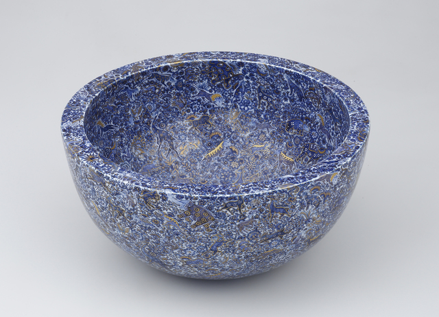 , 'Bowl with Shinrabansho ( All Nature, All Life ) Motif,' 2016, Ippodo Gallery