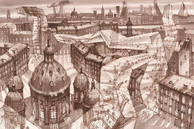 , 's.t.,' , Antonia Jannone Disegni di Architettura