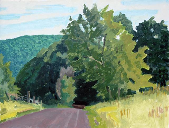 Richard Kirk Mills, 'Further Up Reinertsen Hill Rd.', 2018, Blue Mountain Gallery