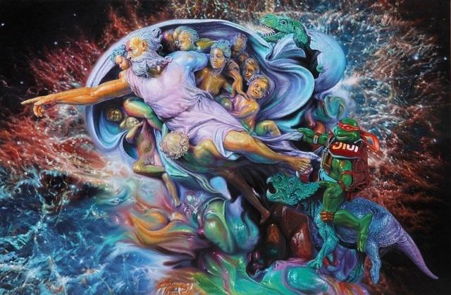 , 'TMNT Michelangelo,' 2014, Eternity Gallery