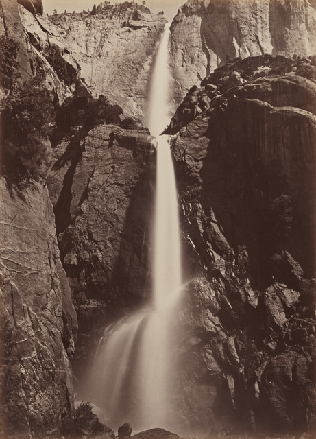 , ' Yosemite Falls, View from the Bottom,' 1878, San Francisco Museum of Modern Art (SFMOMA)