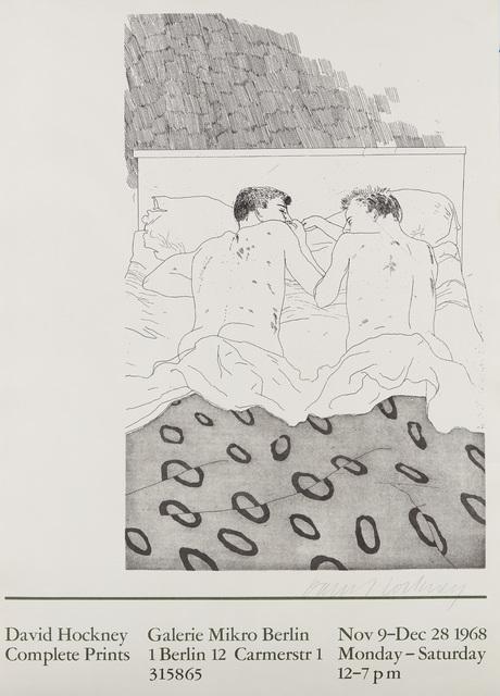 David Hockney, 'Complete Prints: Galerie Mikro Berlin', 1968, Phillips