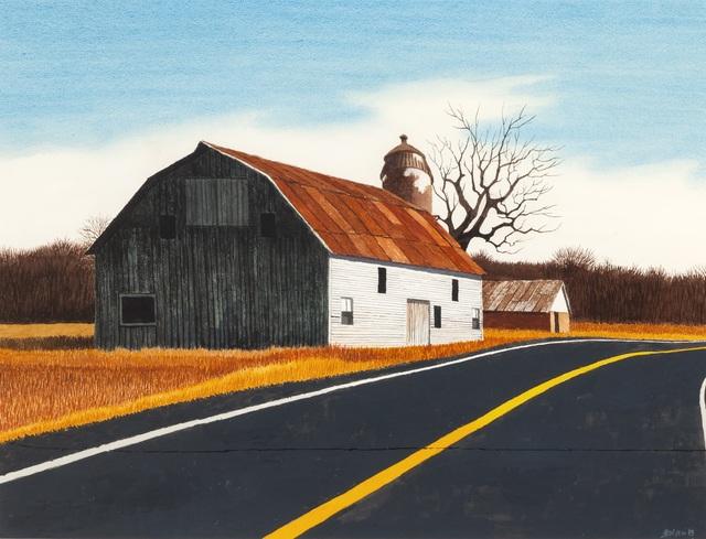 , 'Sunlight on the Barn,' 2013, Mac-Gryder Gallery
