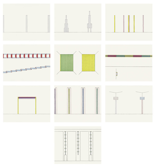 Dan Flavin, 'Projects 1963-95', 1997, Schellmann Art