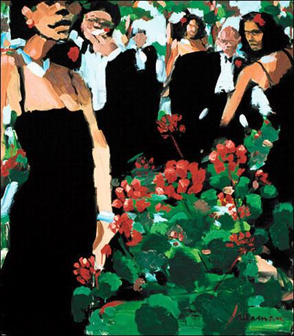 , 'Geranium Garden,' , Zenith Gallery