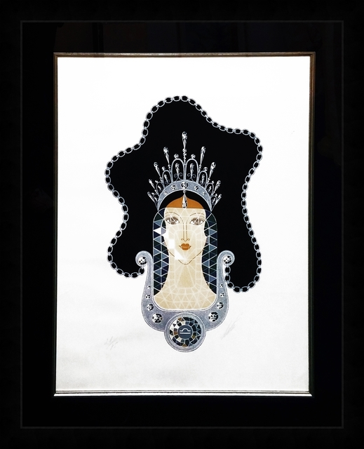 Erté (Romain de Tirtoff), 'DIAMOND', 1969, Gallery Art