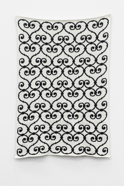 , 'Wool Pattern Piece,' 2014, Meyer Riegger
