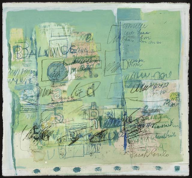 , 'Verde,' 1967, Jorge Mara - La Ruche