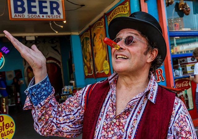 , 'Scott, Coney Island Side Show,' , Soho Photo Gallery