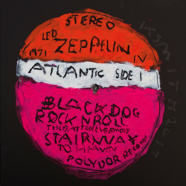 , 'Off the Record / Led Zeppelin / Black Dog,' 2017, Cerbera Gallery