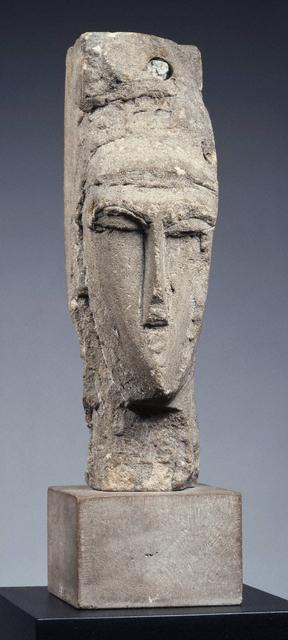 , 'Head,' ca. 1910-11, Princeton University Art Museum