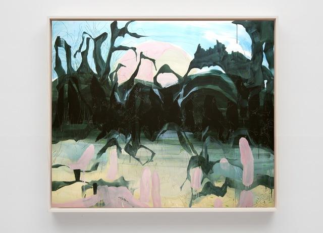 , 'Swamp Eating the Moon,' 2018, Sean Kelly Gallery