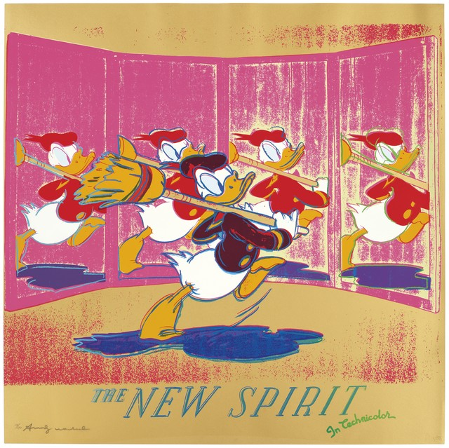 Andy Warhol, 'The New Spirit (Donald Duck) F&S II.357', 1985, Fine Art Mia