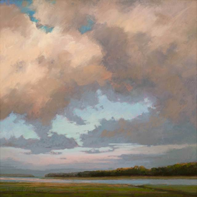 , 'River Clouds,' 2019, Vose Galleries