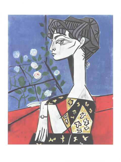 Pablo Picasso, 'Jacqueline avec des fleurs', 2019, Reproduction, Offset Lithograph, ArtWise