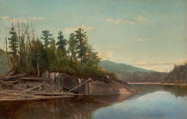 , 'Lake Scene,' , Questroyal Fine Art