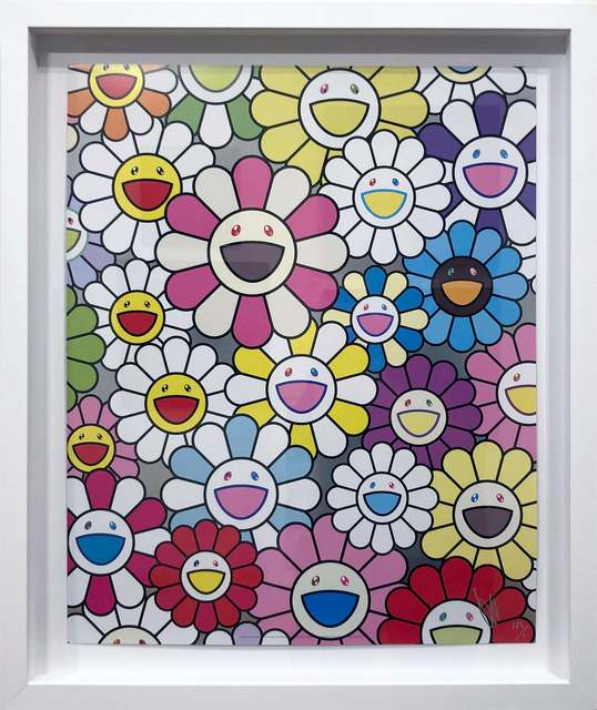 Takashi Murakami, 'A little Flower Painting: Pink, Purple, and Many Other Colors', 2017, DTR Modern Galleries