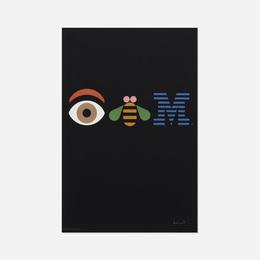 Eye-Bee-M Rebus poster