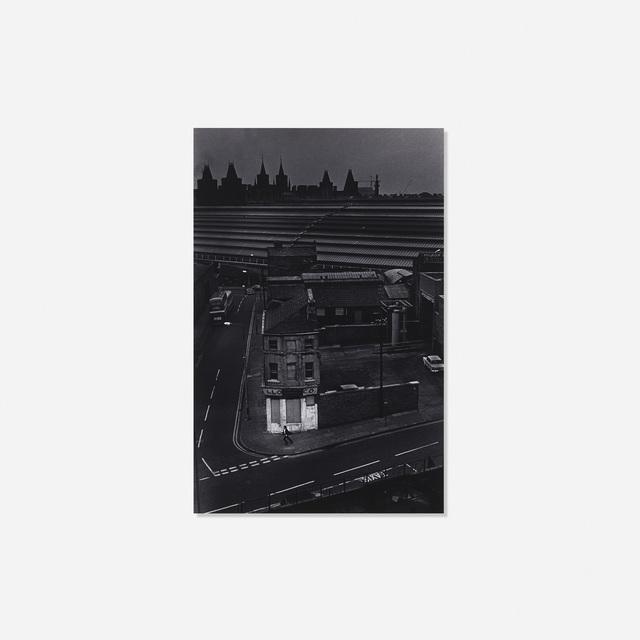 Charles Harbutt, 'Running Man, Liverpool (Railroad Yard)', 1971, Wright
